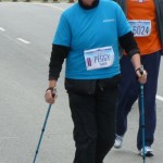 Peggy 'at-the-finnish'  Yonge St. 10 K   Spring 2012